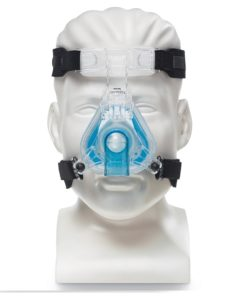 philips Respironics ComfortGel Blue Nasal CPAP Mask and Headgear front