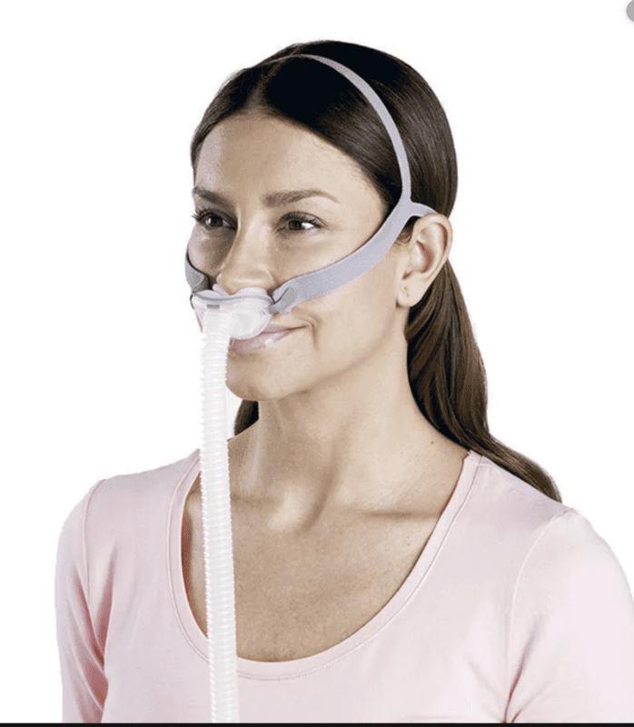 ResMed AirFit™ P10 for Her Nasal Pillow CPAP / BiPAP Mask with Headgear FitPack