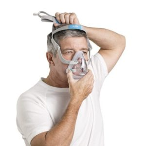 ResMed AirTouch & F20 Full Face CPAP / BiPAP Mask with Headgear